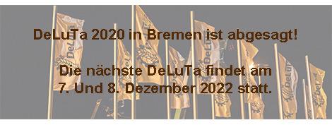 DeLuTa 2020 in Bremen ist abgesagt!