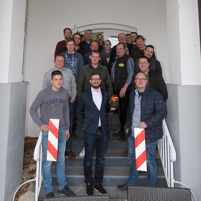 Die Teilnehmer freuten sich über ein erkenntnisreiches Seminar mit dem Verkehrssicherungsexperten Christian Stütz.