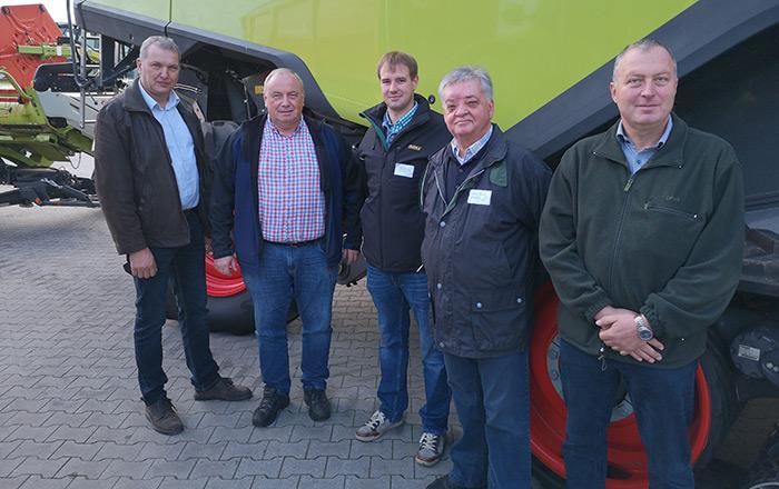 Der Landesverband Brandenburg war mit 5 Präsidiumsmitgliedern vertreten: Karl Ackermann, Martin Krebs, Tommy Bogdain, Werner Nabuda und Christian Liepe (vlnr) setzten sich in Nauen (BLT) und Schloss Ribbeck für anwenderfreundliche Lösungen in der Genehmigungspraxis ein.