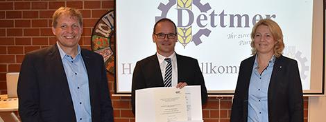 """Dettmer Agrar-Service für """"verl�..."""