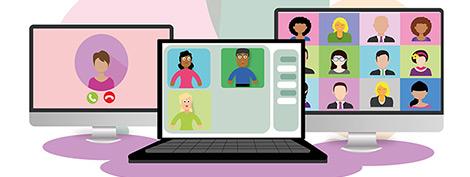 Keine Angst vor Online Meetings