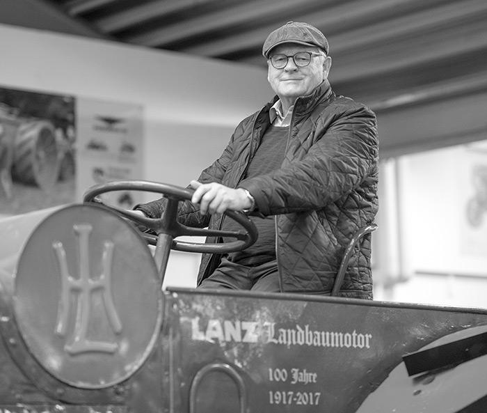 Walter Krone, langjähriger Geschüftsführer des LVD Krone verstarb am 3. Januar 2021. Foto Krone