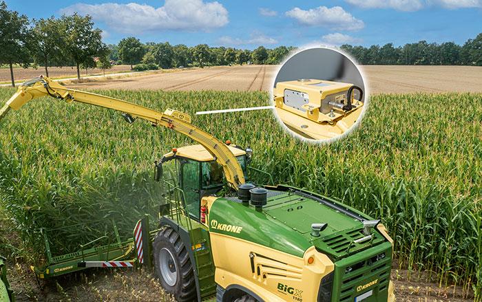 Der neue Krone NIR Control dual ist mehrfach nutzbar – in Gras, Ganzpflanzensilage (GPS), Mais und Naturdünger (Gülle). Fotos Krone und Zunhammer.