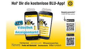 BLU-App: Neue Funktionen stehen bereit